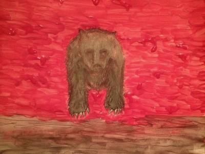 Dreamwork Face Bear/Wall of Flesh